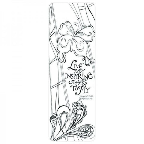 Coloring Bookmark - Inspire