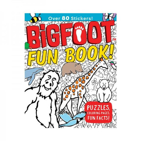 Book - BigFoot Fun Book!