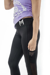 MFit Elite Pocket Leggings <br> Black - Muscle Fitness Factory