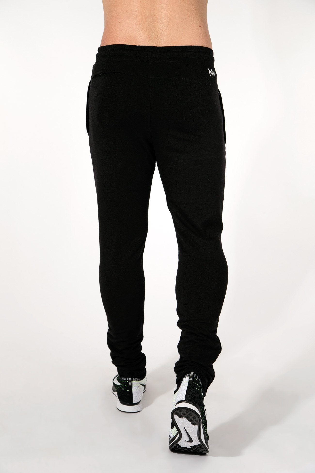MFit Bottoms <br> Black/White - Muscle Fitness Factory