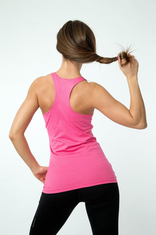 MFF Women's Core Tank <br> Pink - Muscle Fitness Factory