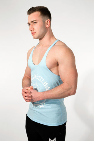 MFF Core Stringer <br> Maya Blue - Muscle Fitness Factory