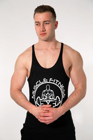 MFF Core Stringer <br> Jet Black - Muscle Fitness Factory