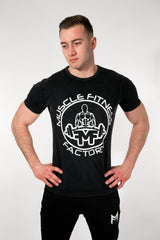 MFF Core T-Shirt <br> Jet Black - Muscle Fitness Factory
