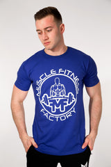 MFF Core T-Shirt <br> Azure Blue