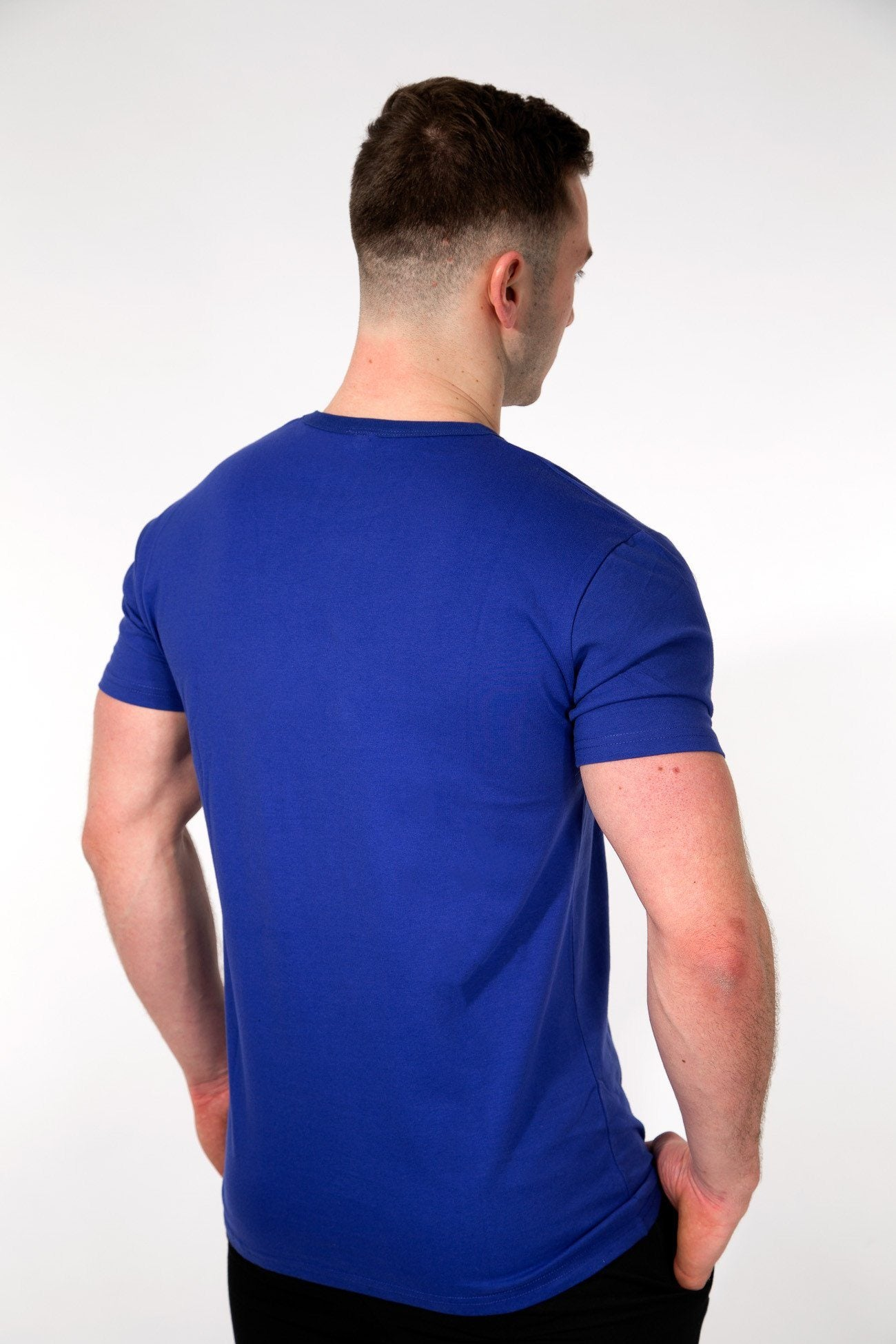 MFF Core T-Shirt <br> Azure Blue - Muscle Fitness Factory