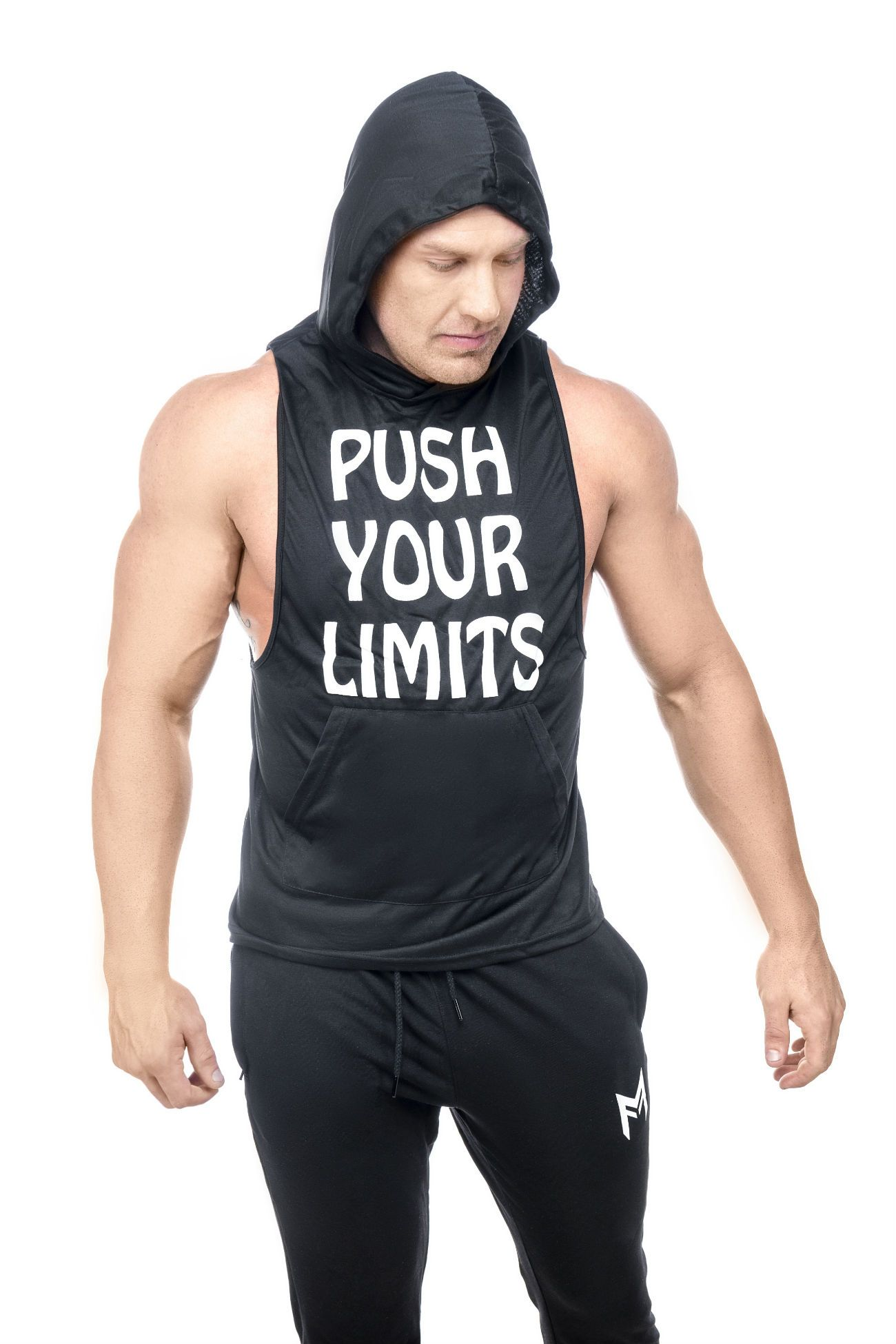 Limitless Hooded Tank <br>Black - Muscle Fitness Factory