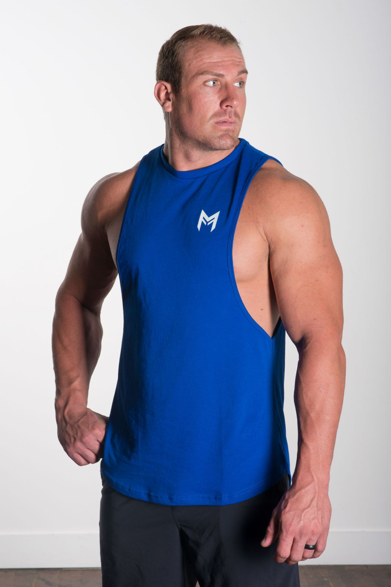 MFF Blitz Tank<br>Blue - Muscle Fitness Factory