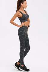 Hardcore Camo Fitness Set <br> Grey - Muscle Fitness Factory