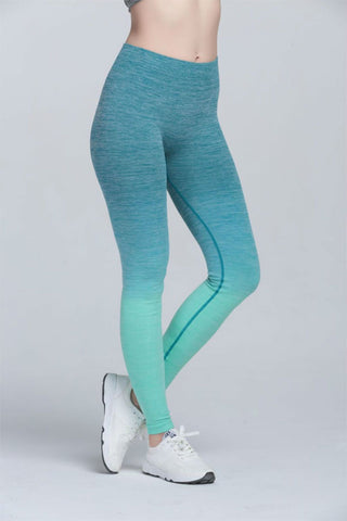Rise Ombre Leggings - Muscle Fitness Factory