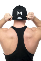 MFF Stretch Fit Hat <br> Black - Muscle Fitness Factory