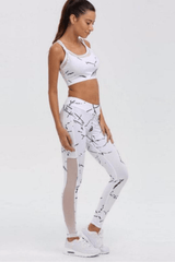 Uplift Marble Fitness Set <br> White - Muscle Fitness Factory