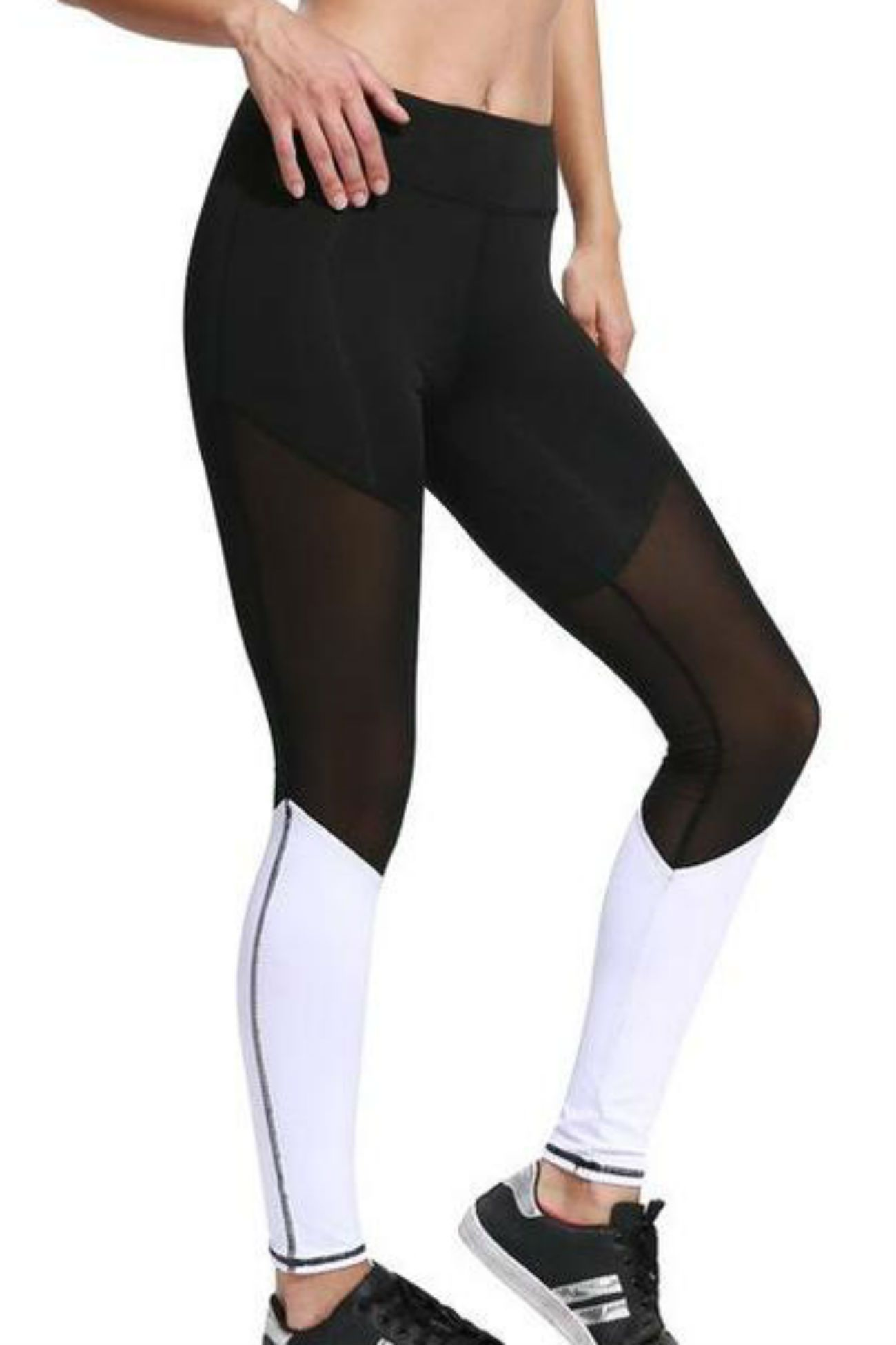 Triple Threat Mesh Leggings - Muscle Fitness Factory