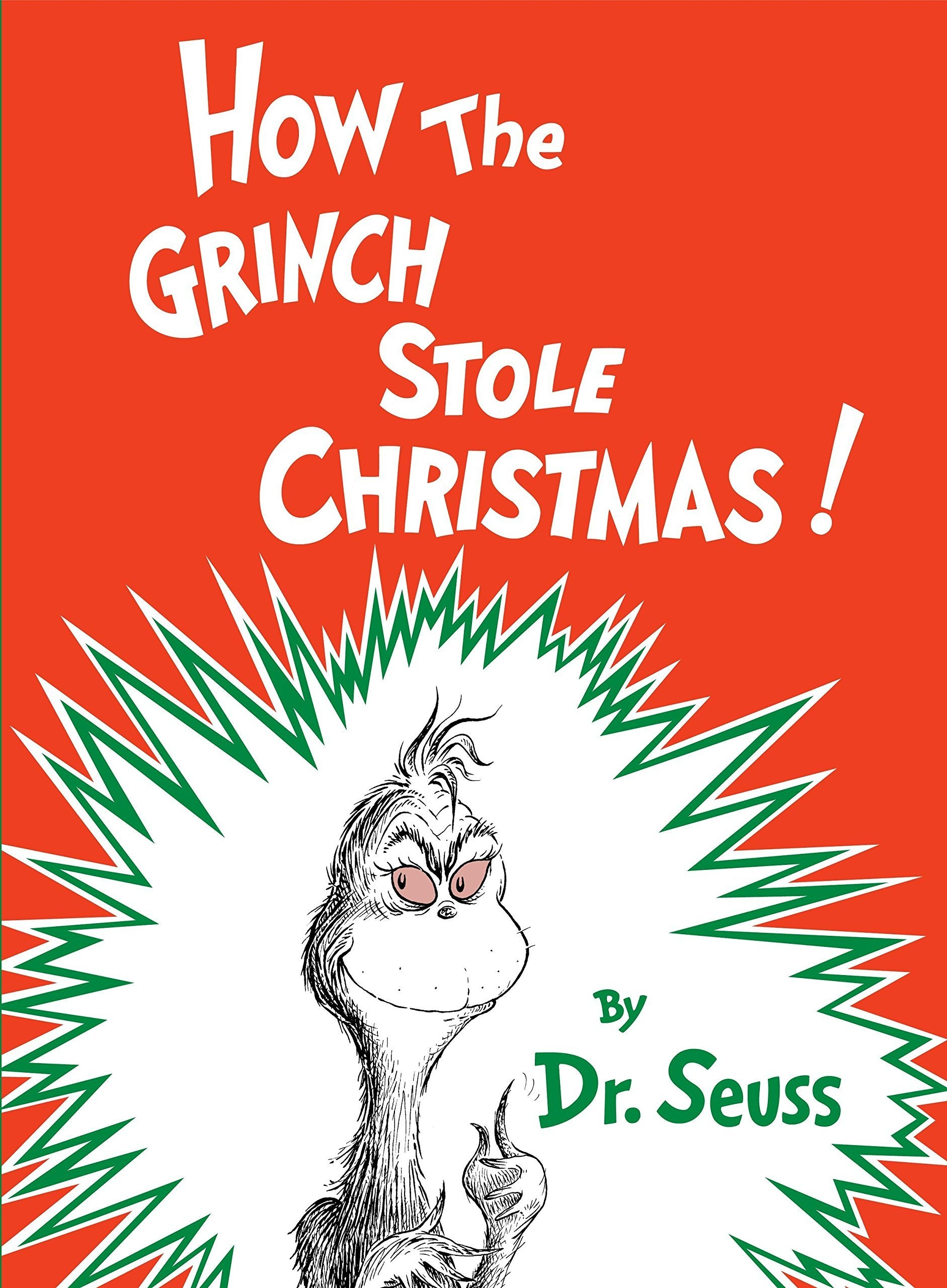 HOW THE GRINCH STOLE CHRISTMAS! - CLASSIC SUES (HARDCOVER)