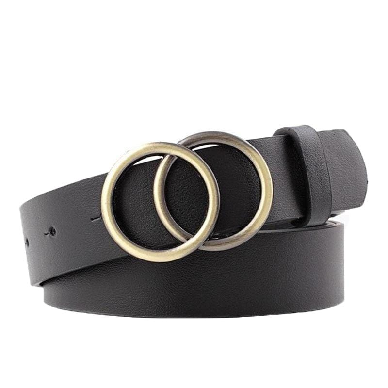 EDBURY LEATHER CLASSIC ALLOY BELT