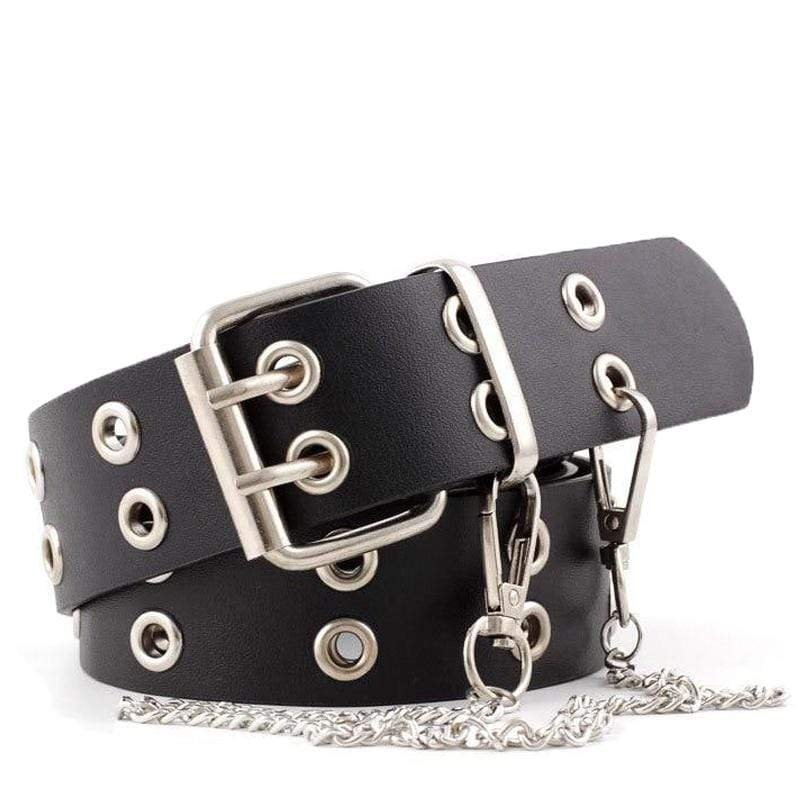EDBURY LEATHER GROMMET BELT