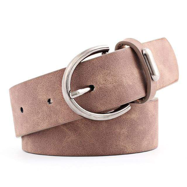 EDBURY LEATHER NAVAJO SUEDE BELT