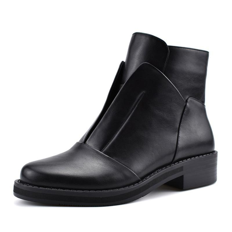 EDBURY LEATHER SERPENTI BOOT