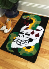 Load image into Gallery viewer, Snake and Skull Rug