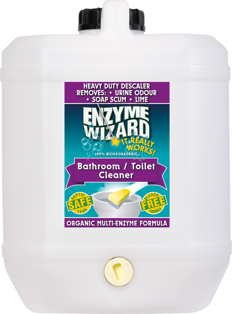 Bathroom / Toilet Cleaner 10 Litres Enzyme Wizard
