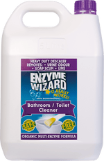 Bathroom / Toilet Cleaner 5 Litres Enzyme Wizard