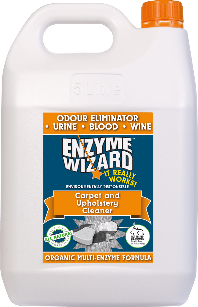 Carpet and Upholstery Cleaner 5L Enzyme Wizard