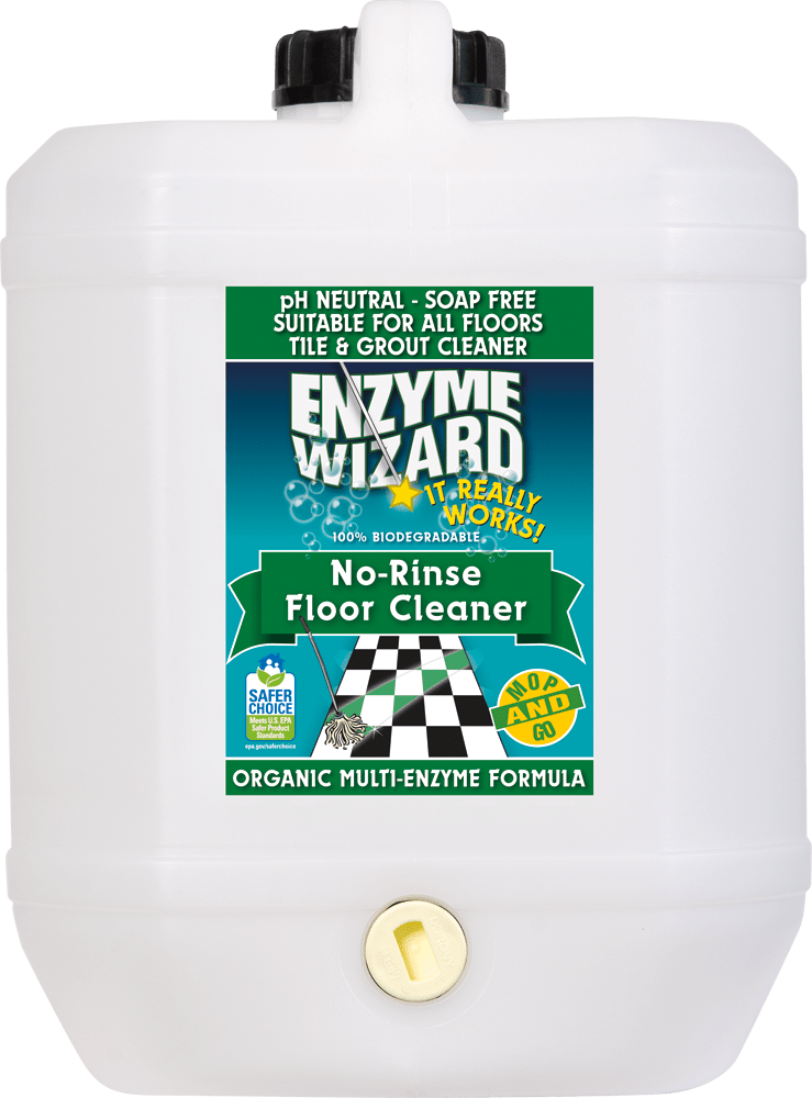 No Rinse Floor Cleaner 10 Litres Enzyme Wizard