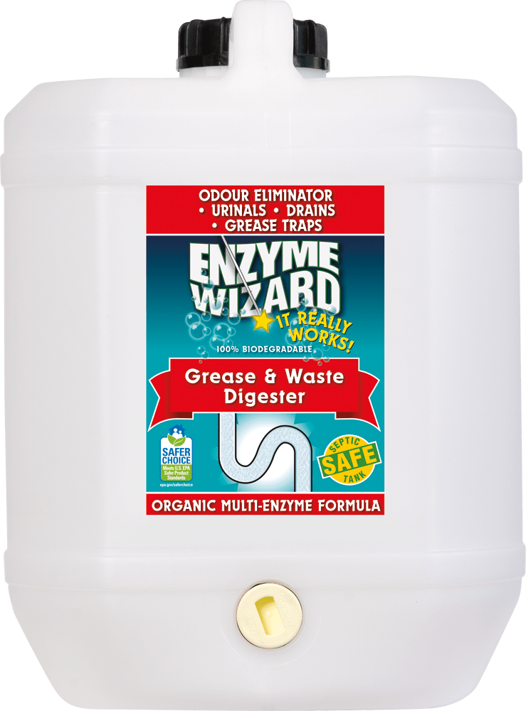 Grease & Waste Digester 10 Litres Enzyme Wizard