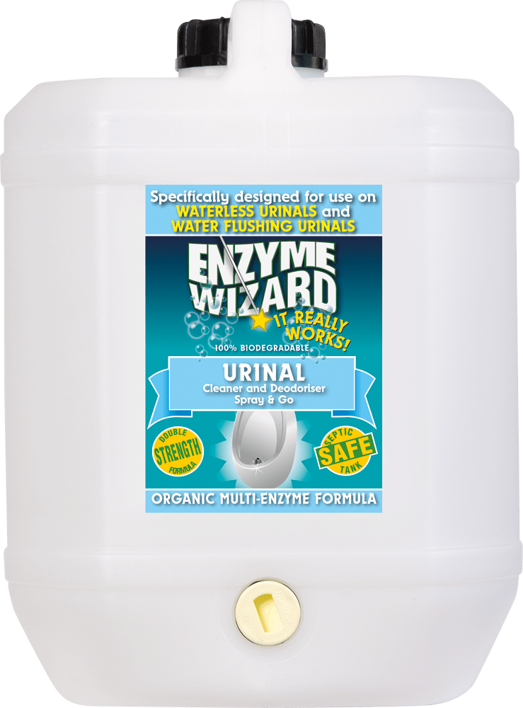 Urinal Cleaner & Deodoriser 10 Litres Enzyme Wizard