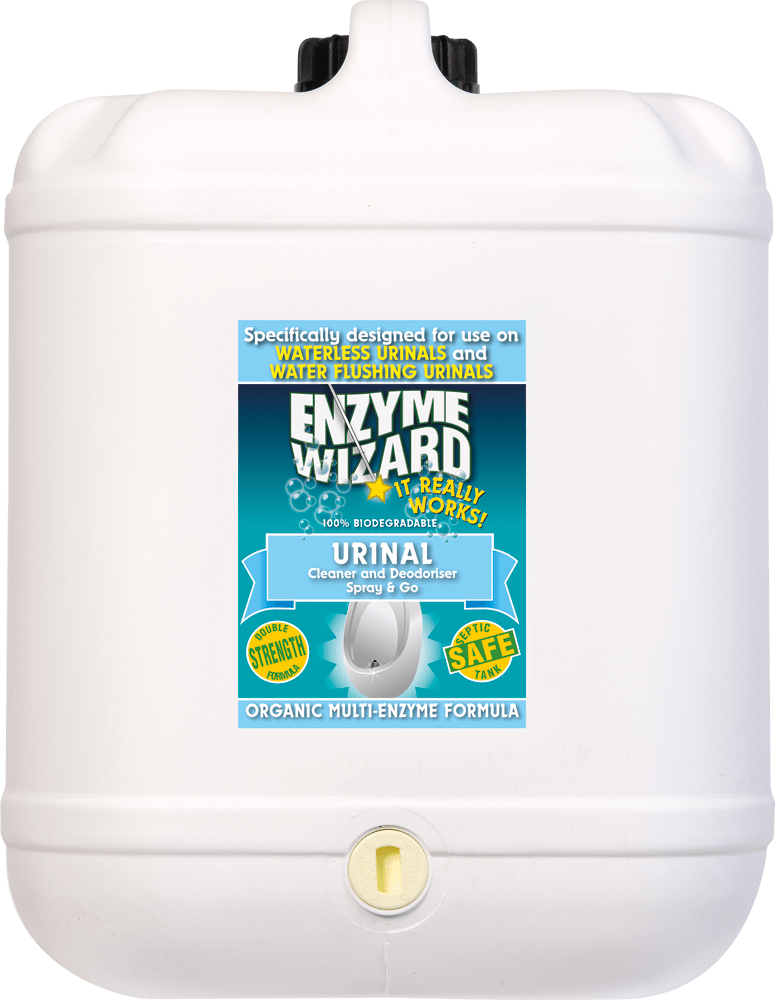 Urinal Cleaner & Deodoriser 20 Litres Enzyme Wizard