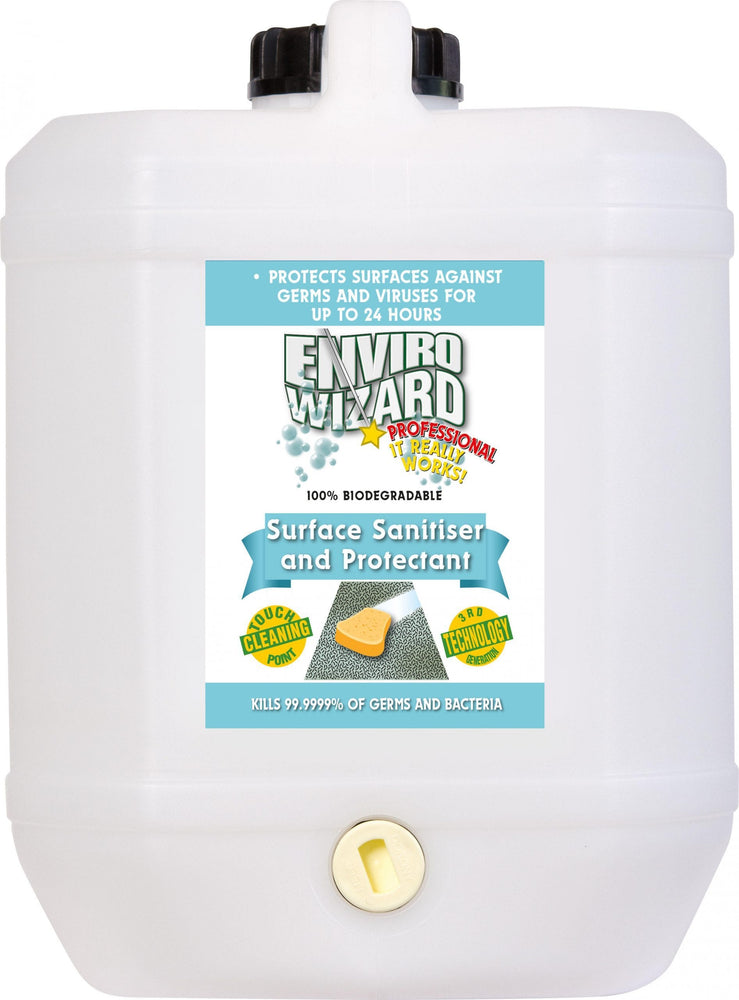 Enviro Wizard Surface Sanitiser & Protectant 10 Litres