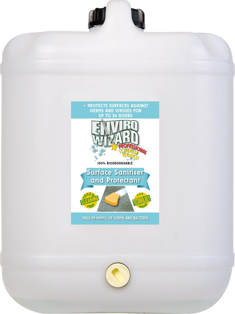 Enviro Wizard Surface Sanitiser & Protectant 20 Litres
