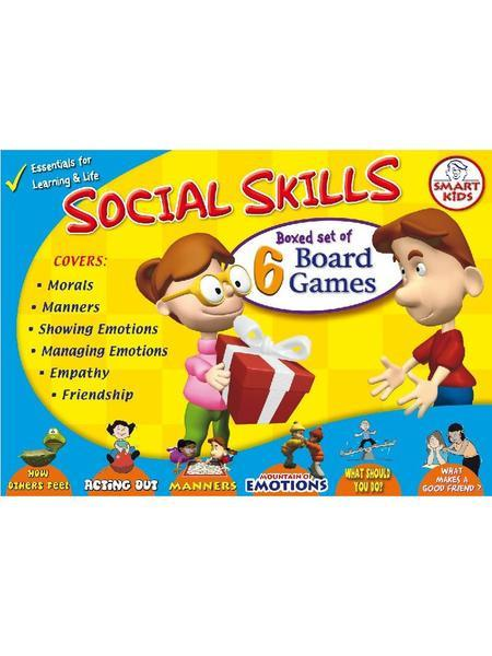 SOCIAL SKILLS GAMES  SET OF 6