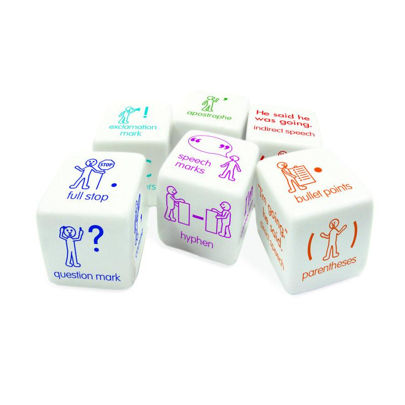 Punctuation Dice
