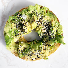 Load image into Gallery viewer, Everything Bagel Avocado Melbourne Smashed