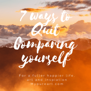 7 ways to quit comparing yourself