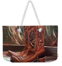 Load image into Gallery viewer, Posing boots - Weekender Tote Bag