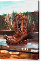 Load image into Gallery viewer, Posing boots - Acrylic Print