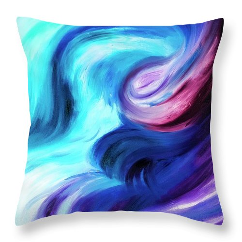 Abstract Pasion - Throw Pillow