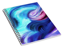 Load image into Gallery viewer, Abstract Pasion - Spiral Notebook