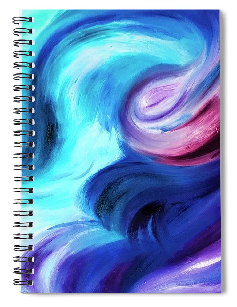 Abstract Pasion - Spiral Notebook