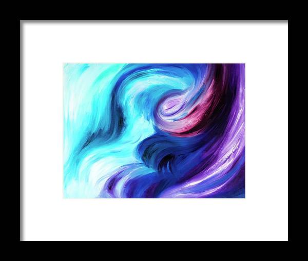 Abstract Pasion - Framed Print