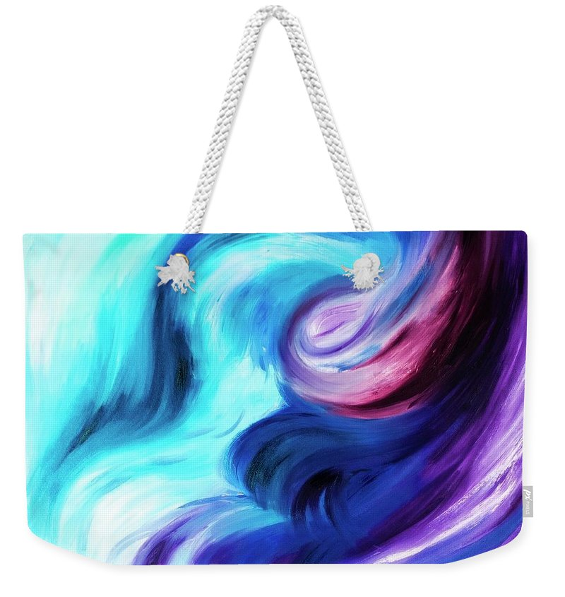 Abstract Pasion - Weekender Tote Bag