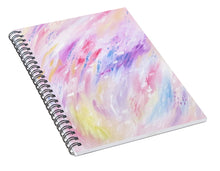 Load image into Gallery viewer, Pink Abstract Passion - Spiral Notebook