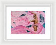Load image into Gallery viewer, Breast Cancer Warrior - Framed Print