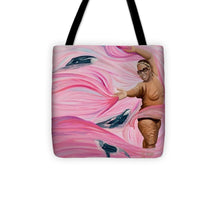 Load image into Gallery viewer, Breast Cancer Warrior - Tote Bag