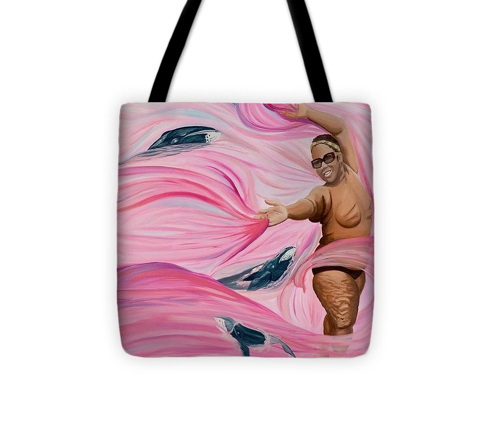 Breast Cancer Warrior - Tote Bag