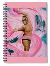 Load image into Gallery viewer, Breast Cancer Warrior - Spiral Notebook