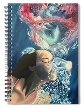 Load image into Gallery viewer, Breath Out  - Spiral Notebook