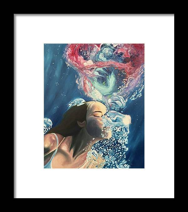 Breath Out  - Framed Print